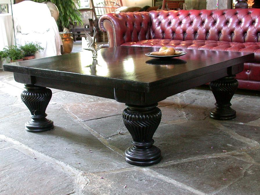 Attractive Square Mahogany Coffee Tables By Mahogany Tables, Inc.