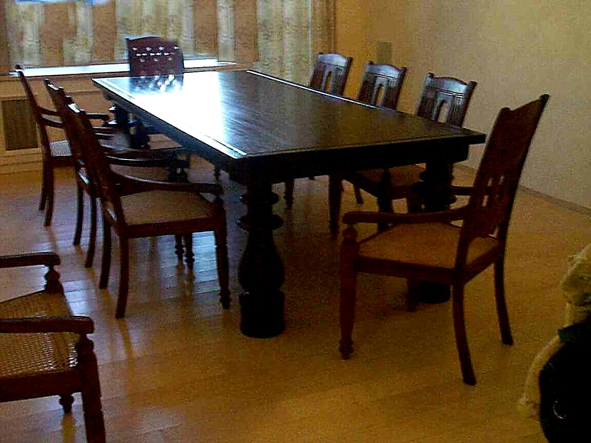 Mahogany Dining Tables by Mahogany Tables Inc
